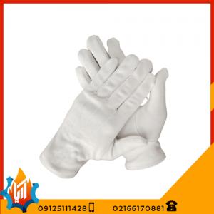 دستکش ایمنی نخی ضد حساسیت