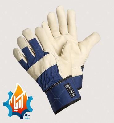 دستکش مهندسی آرگون کف چرم