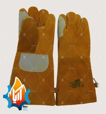 دستکش هوبارت طرح آمریکایی با نخ نسوز