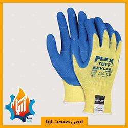 دستکش کاموایی با نخ