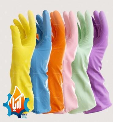 دستکش لاستیکی آشپز