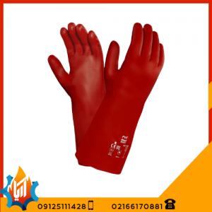دستکش ایمنی ضد حلال Ansell 15554