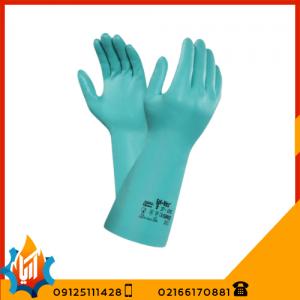 دستکش ایمنی ضد حلال Ansell 39122