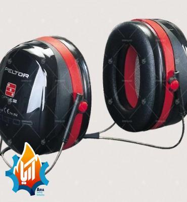 گوشی ایمنی با قابلیت استفاده همرمان با کلاهه (پشت-گردنی)-(2)