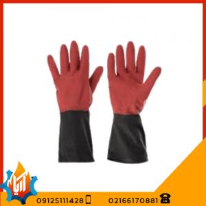 دستکش لاستیکی صنعت کار