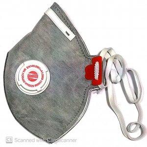 ماسک سوپاپ دار کربن اکتیو