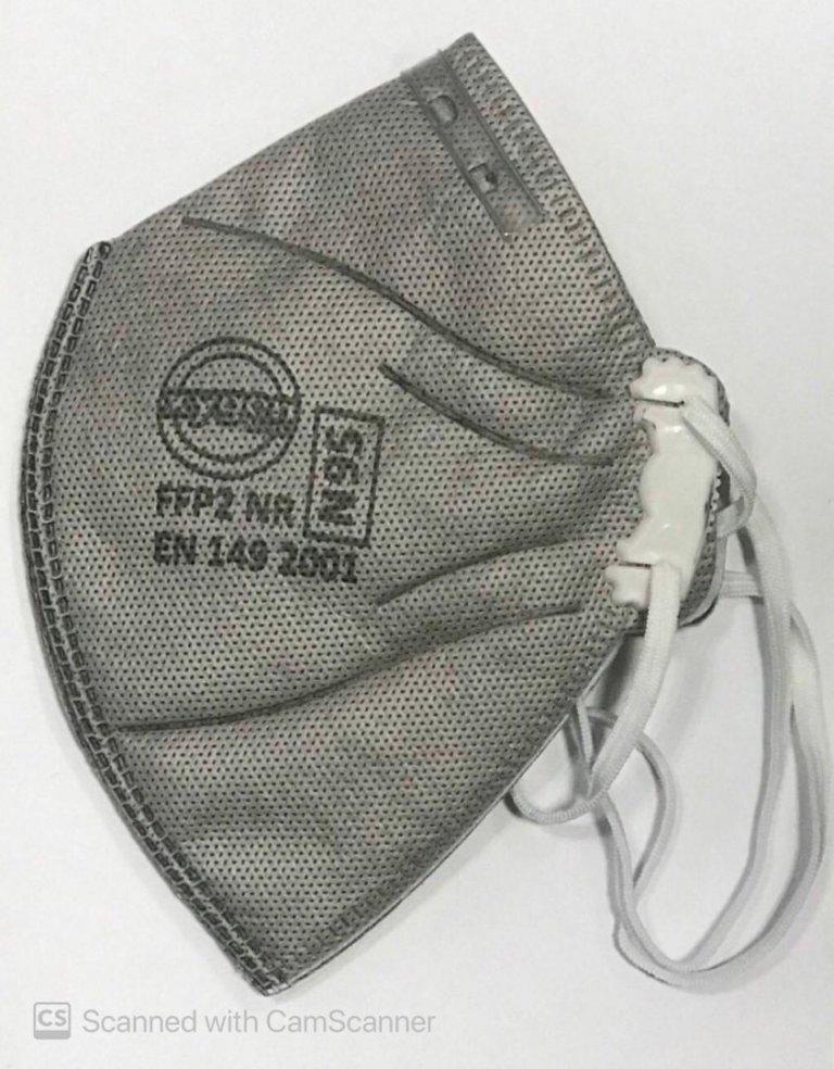 ماسک سوپاپدار ffp2/n95