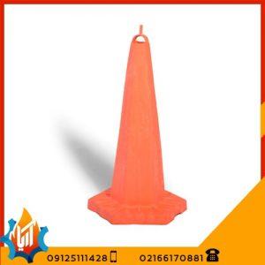 مخروط ترافیکی متوسط ارتفاع 65 سانتیمتر