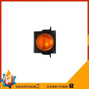 چراغ راهنمایی تک خانه لامپی زرد